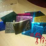Plixo mirror acrylic samples set
