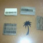 MDF laser cut and engrave samples