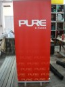 Pull-up banner for fitness club